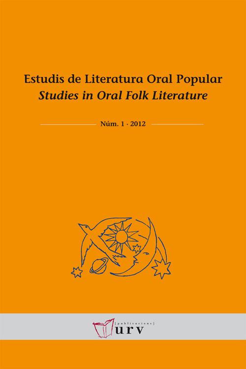 Estudis de Literatura Oral Popular, núm. 1
