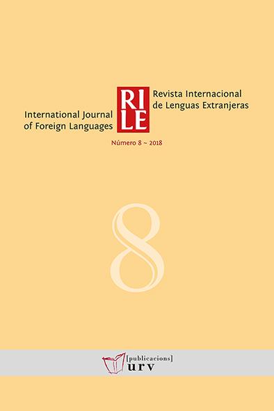 Revista Internacional de Lenguas Extranjeras / International Journal ...